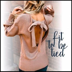 Fit to be Tied Sweater